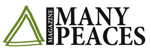 Many Peaces Magazine logo